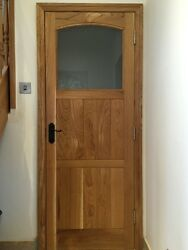 Solid Oak Interior Arched Door Made To Measure Bespoke High Quality