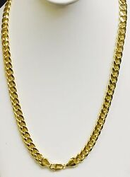 10kt Yellow Gold Miami Cuban Curb Link 20 8 Mm 32 Grams Chain/necklace 210hmc