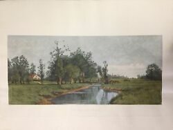 The Meadow Brook By Harry Eaton