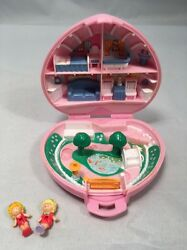 complete 1989 polly pocket country cottage