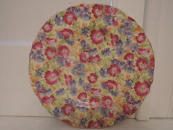 Vintage Royal Winton Chintz Royalty 7 Plate 1950and039s