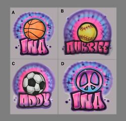Personalized Girls Basketball Softball Soccer T Shirt Birthday Party Team $12.99
