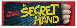 The Secret Hand Third 3rd Hand Gimmick Magic Trick Illusion Prop Stage Comedy