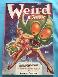 Weird Tales. July, 1953 - Signed By Contributor Richard Matheson