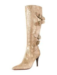 Spectacular New 2160 Sold Out Roberto Cavalli Suede Boots With Buckles
