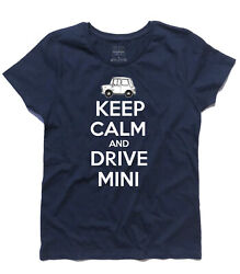 Womenand039s Keep Calm And Drive Mini - England Mr Bean London Style Mods