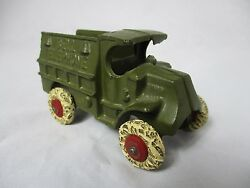 hubley cast iron bell telephone mack truck