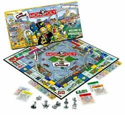 Monopoly Board Game The Simpsons Edition