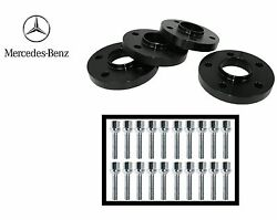 20mm Mercedes Hub Centric Wheel Spacers Kit: 500SL 300SL R129 1989-2000