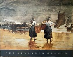 Fisher Girls On The Beach By Winslow Homer