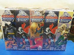 Heroclix Justice League 10 Booster Box Brick  New And Sealed