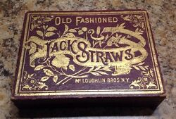 early mcloughlin brothers jack straws game