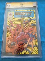 Unity #1 Platinum Edition - Valiant - CGC SS 9.6 NM+ - Signed by Jim Shooter