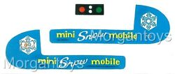 Fisher-price Little People Mini Snowmobile 705 Replacement Lithos Stickers