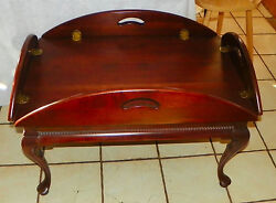 Solid Cherry Butler Coffee Table By Gordons Of Johnson City Tennessee Ct85