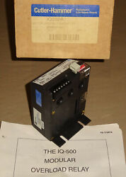 Cutler Hammer Iq502a Electric Motor Protection Relay Westinghouse Overload New
