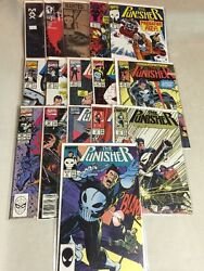 The Punisher 1987 Series S 4-57 Marvel Comic Book Lot Of 16 Issues Ennis Nm