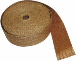 Thermo-tec Copper Insulating Exhaust Wrap 15 Metres/50 Feet X 1 Wide