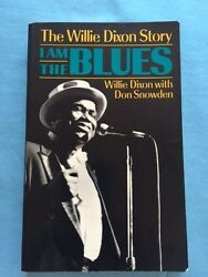 I Am The Blues - First American Edition Inscribed By Willie Dixon