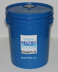 Replaces Kaeser Sigma S-460 Air Compressor Lubricant, 8000 Hr., 5 Gallon Pail