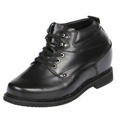High Heeled And Lifted Boots Made For Short Men To Boost Height 5 Inchs-gkb11