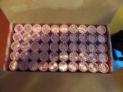 50 Roll Box Of 2016 Lincoln 25 P 25 D Penny Cent Shield Rolls