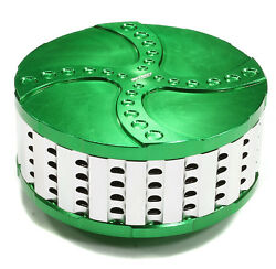 Integy Rc Car C25117green Billet Machined High Flow Air Filter For Losi 5ive-t