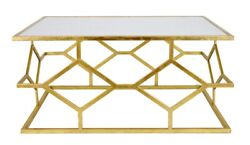 Iron Gold Base Cocktail Table Mid Century Side Coffee End Tables White Marble