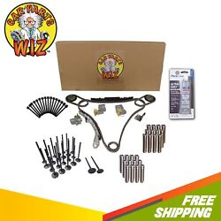 Full Gasket Set Timing Chain Exhaust Intake Valves Guides Bolts Fits 24v Vq35de