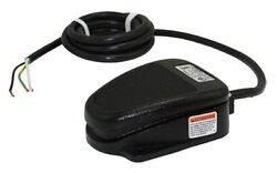 Linemaster 632-SC3 Clipper Foot Switch Electrical Single Pedal Momentary Sin