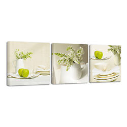Modern Canvas Print Painting Pictures Photo Home Room Decor Wall Art Green Life