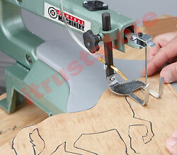Bench Mounted Scroll Bevel Cut Tilting Table Saw Scrolling Form Cut Machine Tool