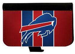 BUFFALO BILLS SAMSUNG GALAXY amp; iPHONE CELL PHONE CASE LEATHER COVER WALLET $19.99