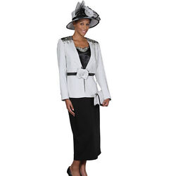Sunday Best Women Church Suit-soft Crepe Fabric -standard To Plus Size 394