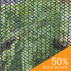UV Block 50% Black Wind Screen Bulk Shade Cloth Privacy Fence