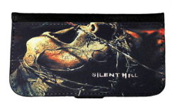 SILENT HILL GALAXY amp; iPHONE CELL PHONE CASE LEATHER COVER WALLET $19.99