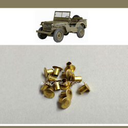 Ford Gpw Data Plate Attaching Hardware Brass Rivets For Jeep