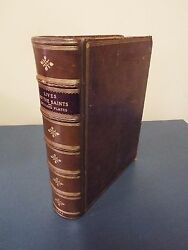1869 - Lives Of The Saints With Colored Plates - Printed In London