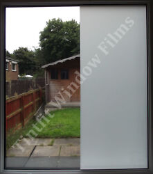 Frosted Privacy Window Film Matte Opal Etch Tinting Tint Glass Vinyl
