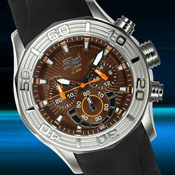 32 Degrees Polar Chronograph Mens Watch Msrp 1400.00 Clearance Sale