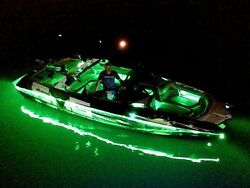 White- - Led Boat Light Kit - - Universal Fit Any Boat - - Under Or Above Deck