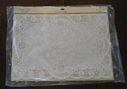 Vintage Hallmark Nip French Lace Paper Placemats Doilies Set Of 24