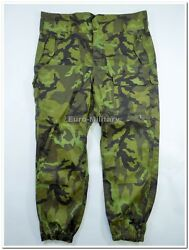 Original Czech Army Field Trousers Vz.95 Pattern Camo All Sizes Military Pants