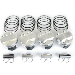 Wiseco 12.21 86mm Pistons For Honda Civic Si Acura Rsx Type S K20a2 K20z1 K20z3
