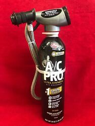 AC PRO Professional Synthetic Refrigerant ACP-100 Leak Sealer WITH GAUGE
