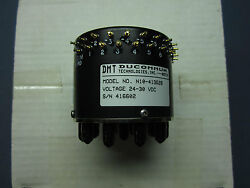 Ducommun Dmt N10-413g28 Multi Position 50 Ohm Terminated Switch Dc-10.5 Ghz Sma