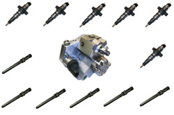 2003-2004 Dodge Ram 5.9L Diesel Fuel Injector/Injection Pump/Supply Tube Package