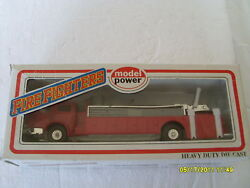 Model Power O-scale Fire Fighters Tower Ladder Truck