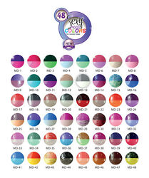 Mood Temperature Changing Gel Polish Colors - Set Of 48 Bottles Limited Edition
