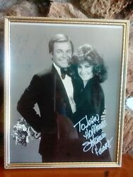 Robert Wagner And Stephanie Powers Autograph Photgraph, Hart To Hart
